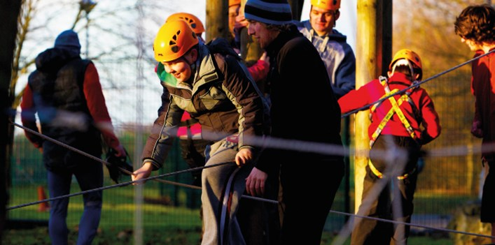 Group Activities at Hatfield Outdoor Activity Centre