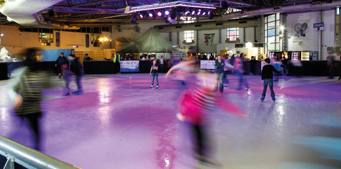 Ice Skating at the DomeImage