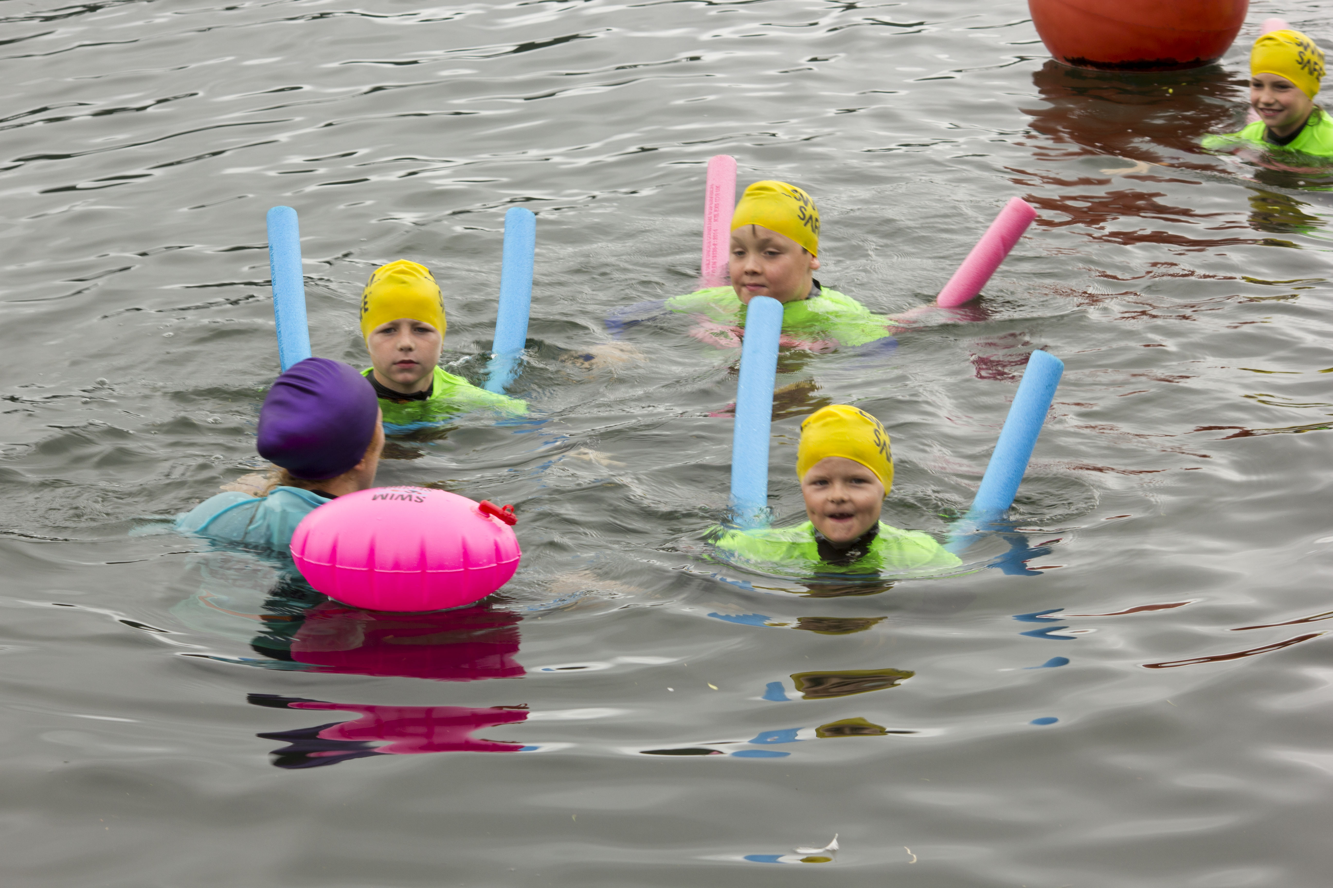 Free outdoor water safety sessions