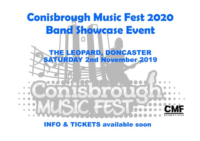 Conisbrough Music Fest 2020Image