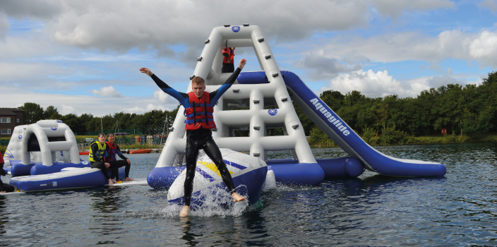 New Aqua Park set to make a splash this summer at Hatfield Outdoor Activity Centre